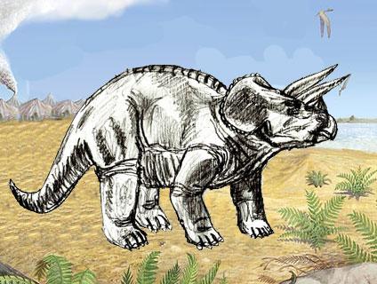 Рисунок динозавра поэтапно