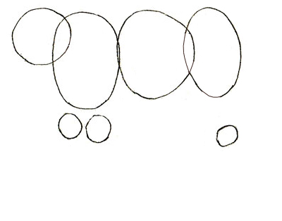 Как нарисовать ягуара, шаг 1