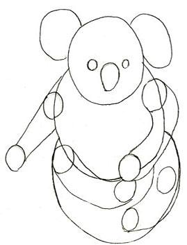 рисунки медведя на задних лапах