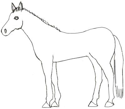 ... лошадь поэтапно | Рисунок лошади: www.lookmi.ru/kak-risovat-loshad.html