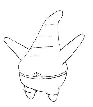 Как нарисовать Патрика, шаг 4