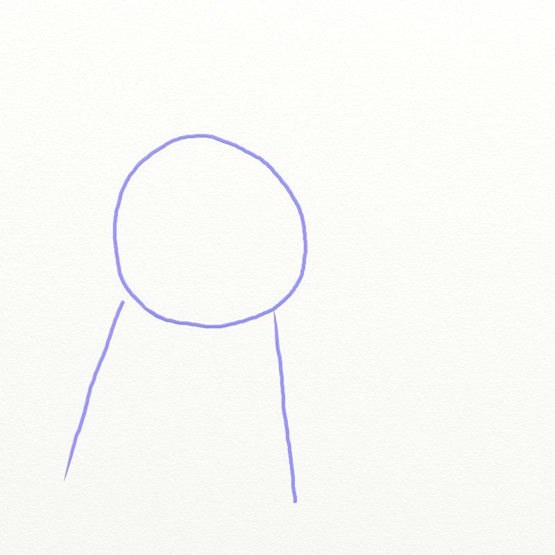 Как нарисовать Покемона, шаг 1