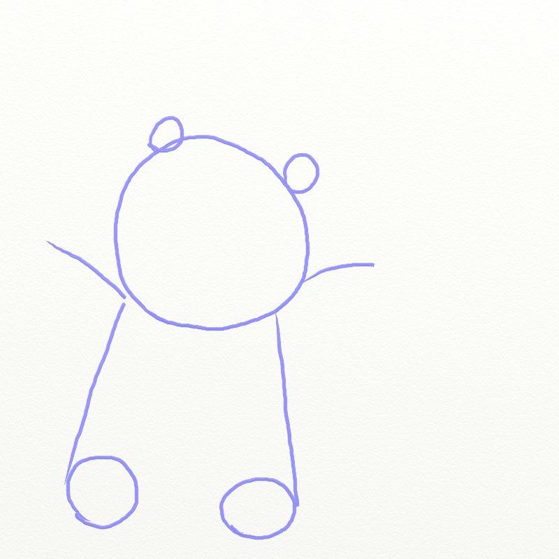Как нарисовать Покемона, шаг 2