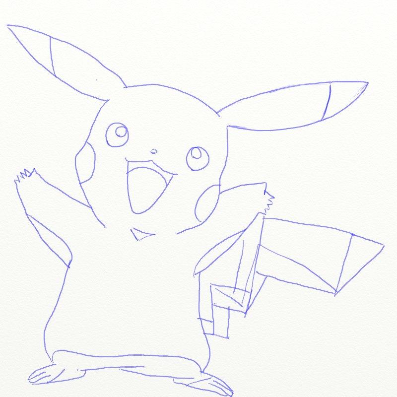 Как нарисовать Покемона, шаг 6