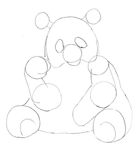 Как нарисовать панду как научиться рисовать карандашом Как рисовать как рисовать животных
