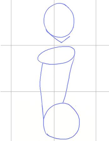 Рисуем манга на планшете, шаг 1