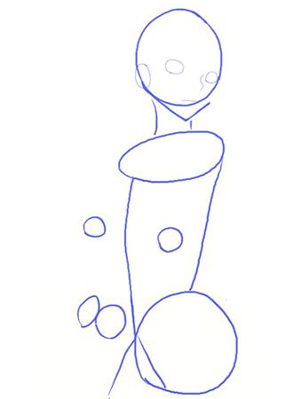 Рисуем манга на планшете, шаг 2