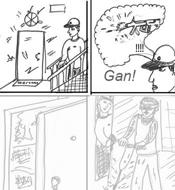 Рисунки людей в Комиксах