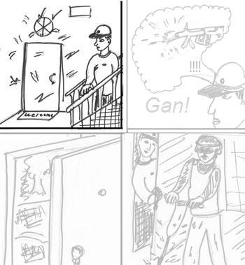 Как рисовать комиксы, шаг 1