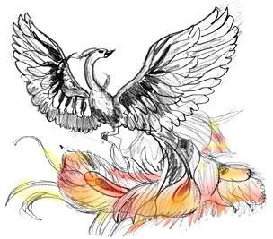 Как нарисовать жар птицу
