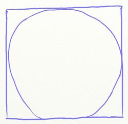 Как нарисовать яблоко, шаг 2