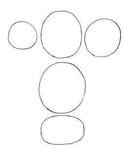 Как нарисовать грибы, шаг 2