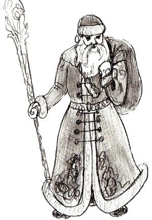 рисунок деда:
