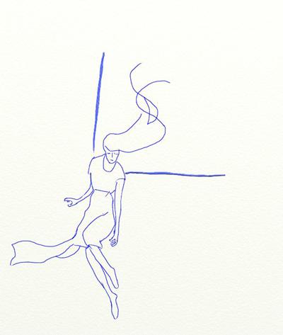 Как нарисовать ангела, шаг 3