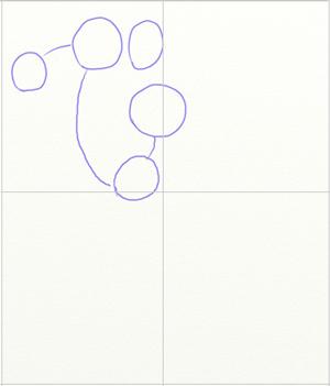 Как нарисовать Хоккеиста, шаг 1