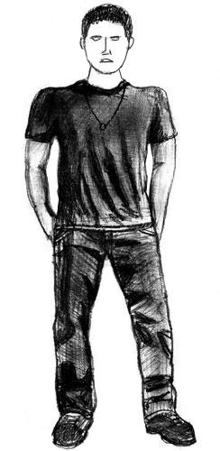 Как нарисовать человека, шаг 6