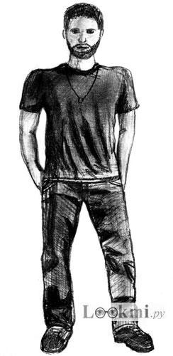 Как нарисовать человека, шаг 7