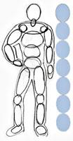 Как нарисовать человека, способы