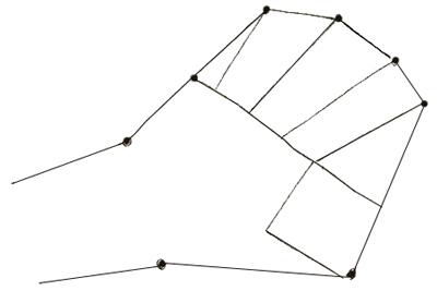 Как нарисовать руку, шаг 2