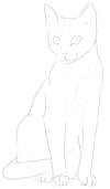 Як намалювати Кішку поетапно