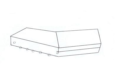 Как нарисовать танк Т-34 шаг 2