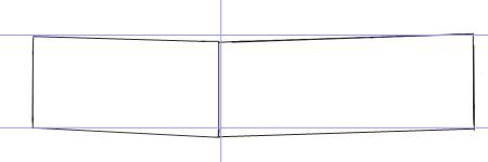 Как нарисовать машину, шаг 1