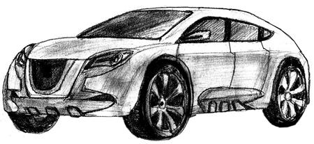 Как правильно рисовать машины