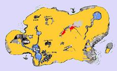 Рисунок Пиратской Карты