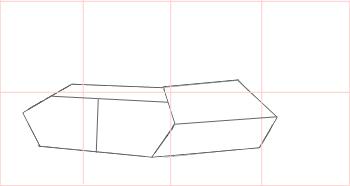 Как нарисовать танк, шаг 1