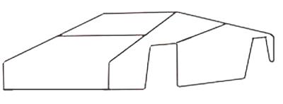 Как нарисовать спортивную машину, шаг 1