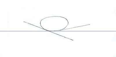 Как нарисовать военный самолет, шаг 1