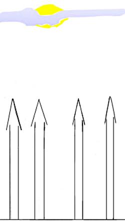 Как нарисовать замок, шаг 1