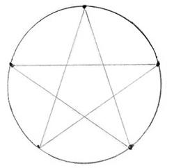Как нарисовать звезду, шаг 2