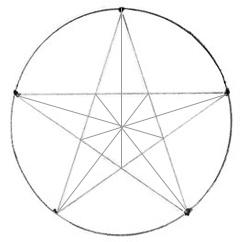 как нарисовать воровскую звезду