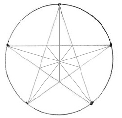 Как нарисовать звезду, шаг 3