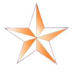 Как нарисовать звезду, шаг 6