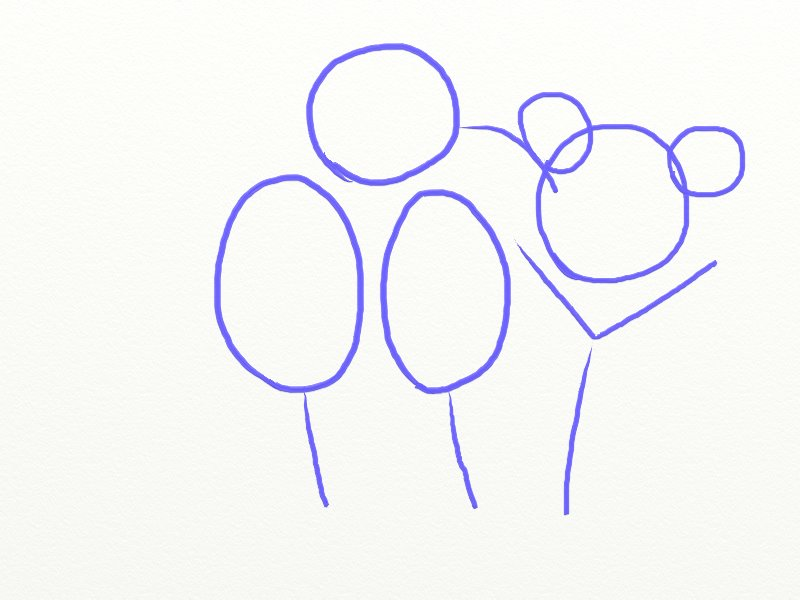 Как нарисовать Енота поэтапно, шаг 2